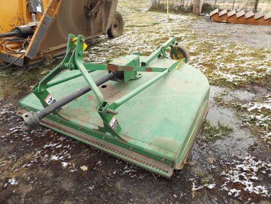 JD MX6 6' 3-pt. rotary mower