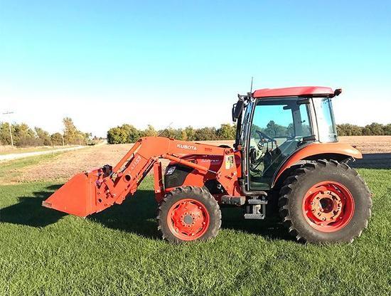 '10 Kubota 6040D tractor