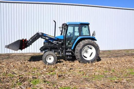 '99 NH TS100 tractor
