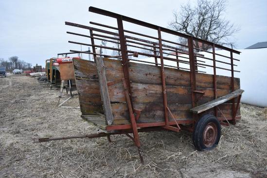 Shop Built livestock loading chute