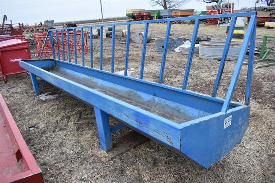 Werk Weld metal feed bunk