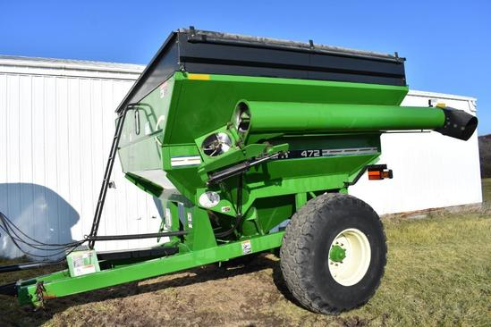 2004 Brent 472 grain cart
