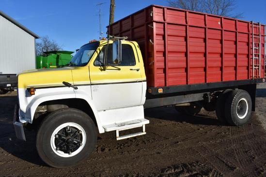 1979 GMC grain truck