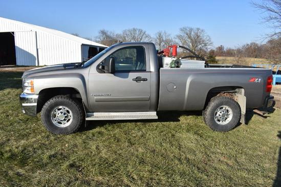 2008 Chevrolet 2500HD 4wd pickup