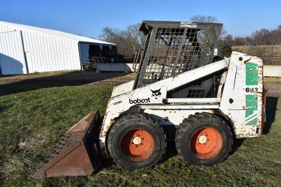 Bobcat 643 skid steer
