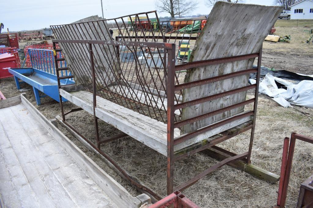 Shop Built hay feeder