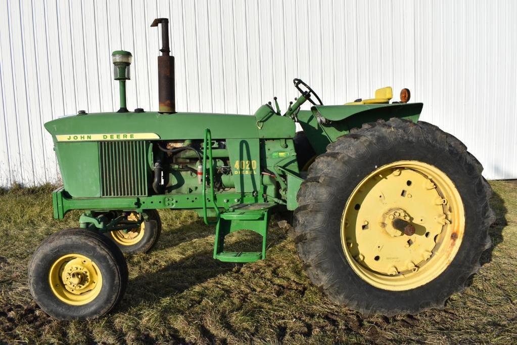 1965 John Deere 4020 2wd tractor