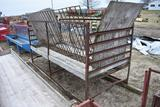 Shop Built hay feeder