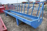 Werk Weld metal feed bunk