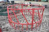 Metal bale ring