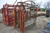 Cattle catch chute