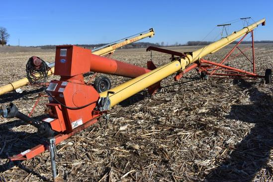 "Westfield MK100-61 10""x61' swing away auger"