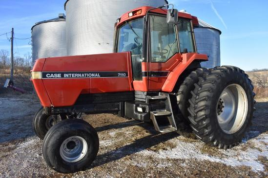 1991 Case-IH 7110 2wd tractor