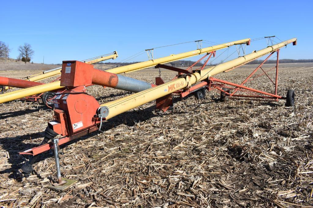 """Westfield MK100-61 10""""x61' swing away auger"""