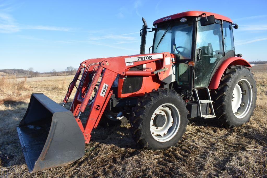 Zetor 9040 MFWD tractor