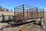16'x6' hyd. lift hog cart