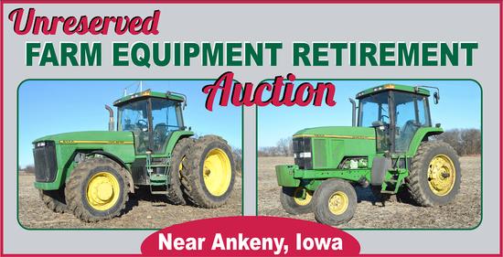 Williamson No-Reserve Farm Retirement Auction