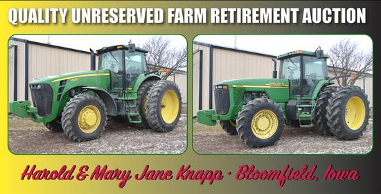 Knapp Farm Equipment Retirement Auction