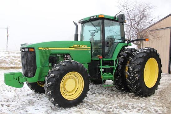 2001 John Deere 8310 MFWD tractor