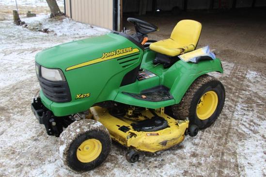 John Deere X475 lawnmower