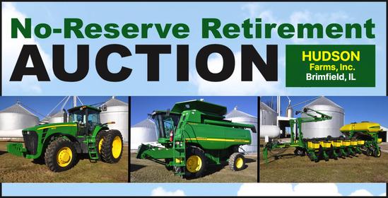 Hudson Farms No-Reserve Farm Retirement Auction