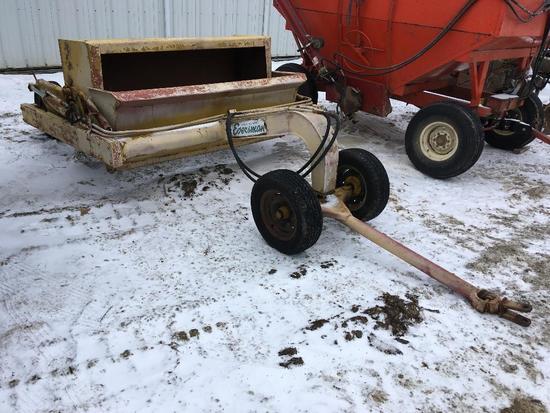 Eversman 2SD pull-type dirt scraper