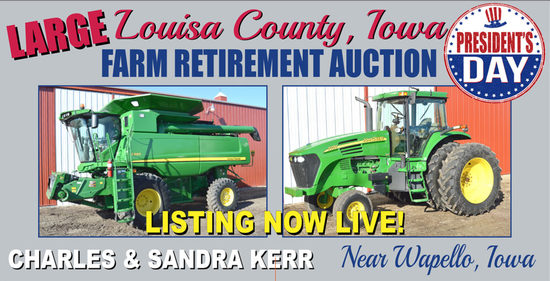 Kerr Unreserved Farm Equipment Retirement Auction