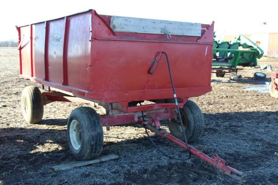 Stan-Hoist Wagon 6.5' x 12' steel barge box