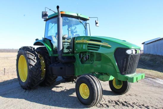 2005 John Deere 7720 2wd tractor