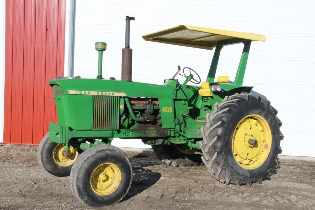 1966 John Deere 4020 gas tractor