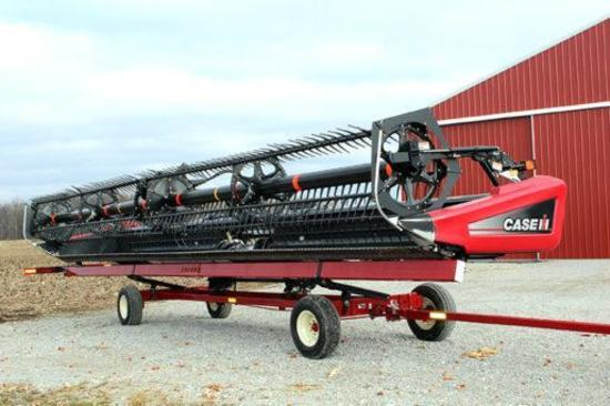 2012 Case IH 2162 40' flex draper head