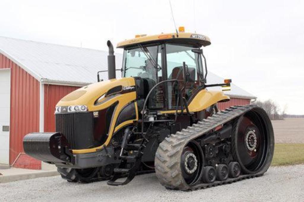 2009 Challenger MT765C Track Tractor