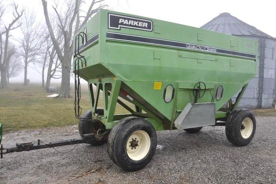 Parker 525 gravity wagon