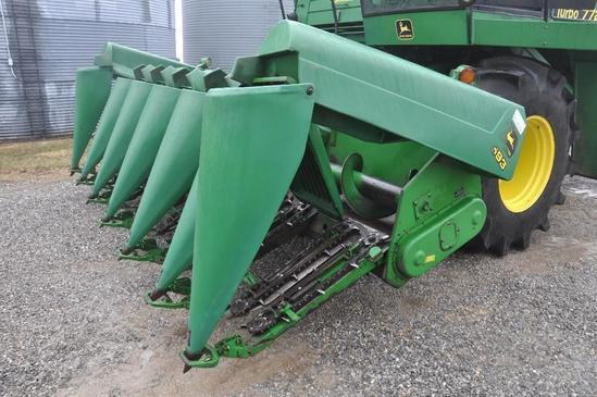 "1997 John Deere 693 6 row 30"" corn head"