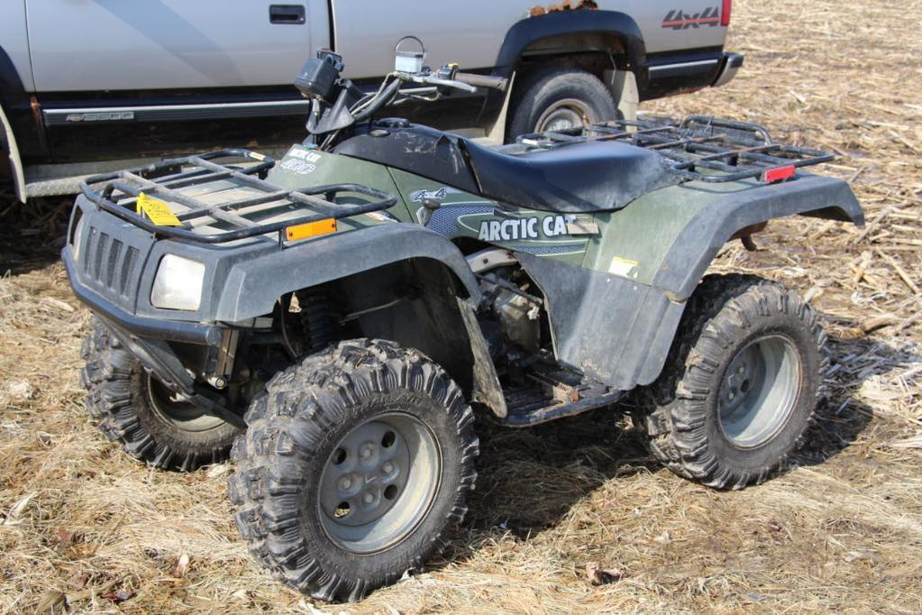 Artic Cat 400 4-wheeler