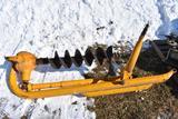 Danuser F-8 3-pt. post hole digger