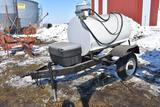 Shop Built 300 gal. fuel transport trailer