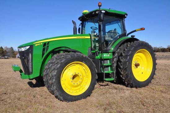 2013 John Deere 8310R MFWD tractor