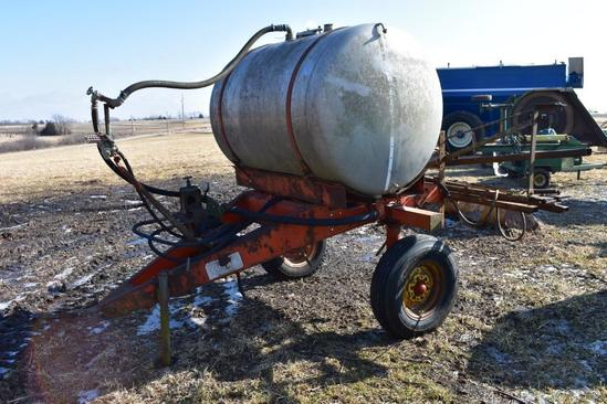 Clark pull-type sprayer w/stainless steel tank