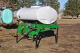 300 gal. 3-pt. fertilizer tank