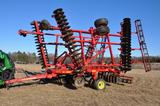 2013 Sunflower 6630 32' vertical tillage tool