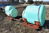 Saddle tanks & brackets