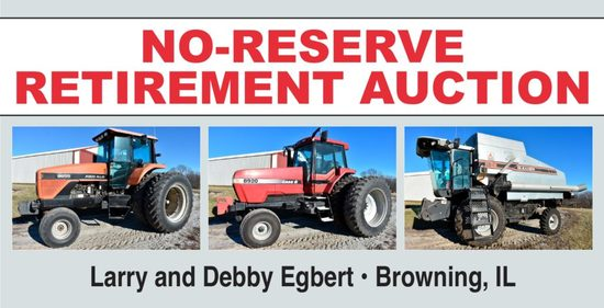 Egbert No-Reserve Retirement Auction