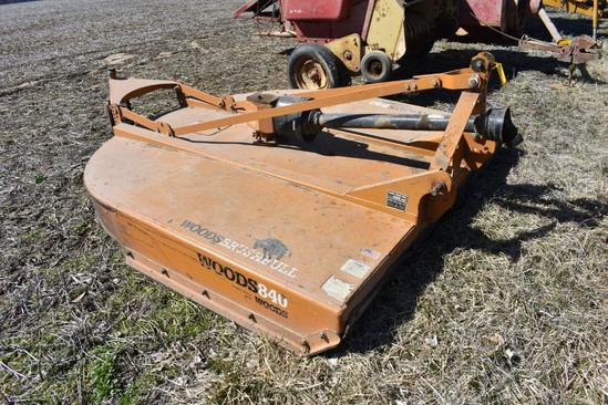"Woods 840 Brush Bull 84"" 3-pt. mower"