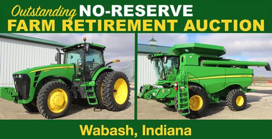 Outstanding No-Reserve Farm Retirement Auction