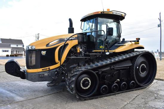 2009 Challenger MT835C track tractor