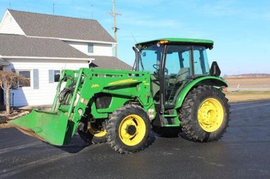 2008 John Deere 5425 MFWD tractor
