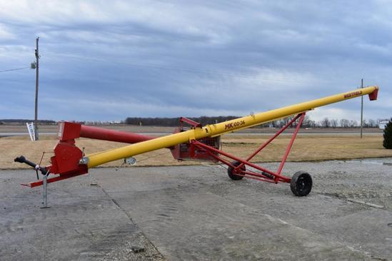 """Westfield MK100-36 10""""x36' swing-away auger"""