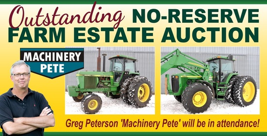 No-Reserve Farm Estate Auction