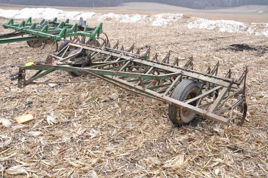 John Deere Van Brunt 16' pull-type field cultivator